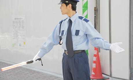 写真:警備業務