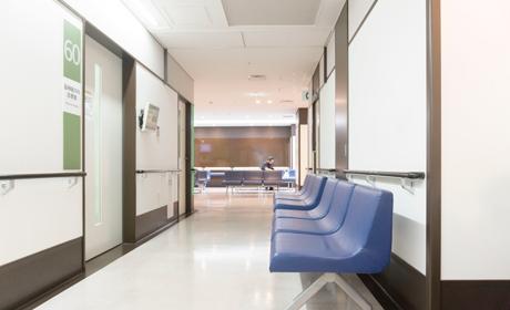 写真:病院清掃